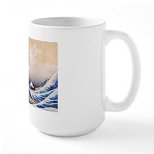 Ukiyoe Hokusai Wave Coffee Mug
