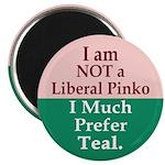 I Much Prefer Teal Magnet (100 pack)