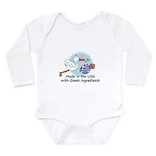 stork baby greece 2 Body Suit