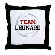 Leonard Throw Pillow