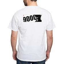 9000 Vegeta Black/White/Red - print on back.