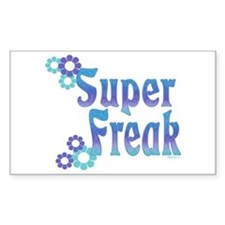 Super Freak Rectangle Decal