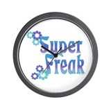 Super Freak Wall Clock