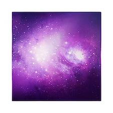 Purple Nebula Queen Duvet