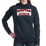 Bhutan Native Women's Hooded Sweatshirt