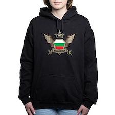 Bulgaria Emblem Women's Hooded Sweatshirt