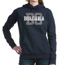 BG Bulgaria Women's Hooded Sweatshirt