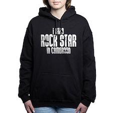 Rock Star In Cameroon Women's Hooded Sweatshirt