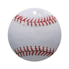 Baseball Ornament (Round)