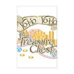 Treasure Chest Mini Poster Print