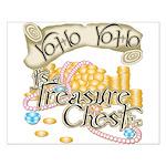 Treasure Chest Small Poster