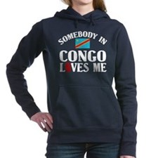 Somebody In Congo Women's Hooded Sweatshirt