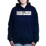 Vintage Czech Republic Women's Hooded Sweatshirt