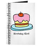 Birthday Girl Cupcake Journal