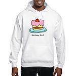 Birthday Girl Cupcake Hooded Sweatshirt