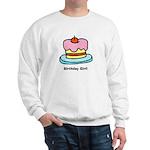 Birthday Girl Cupcake Sweatshirt