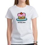Birthday Girl Cupcake Women's T-Shirt