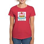 Birthday Girl Cupcake Women's Dark T-Shirt