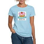 Birthday Girl Cupcake Women's Light T-Shirt