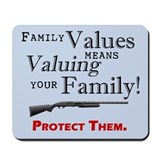 Mousepad: Family Values