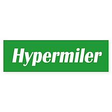 Hypermiler bumper sticker