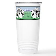 Cute Old english sheepdogs Travel Mug
