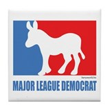 ML Democrat Tile Coaster