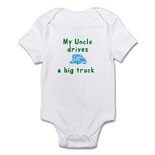 Cute Truckers Infant Bodysuit