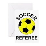 Soccer Referee Greeting Cards (Pk of 10)