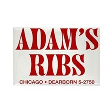 Adam's Ribs Rectangle Magnet