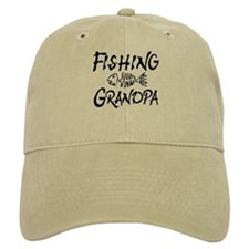 Fishing Grandpa Baseball Cap