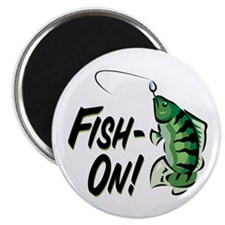Fish-On! Magnet