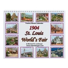 St. Louis World's Fair Wall Calendar