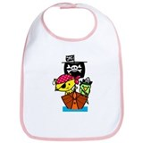 Pirate Ship Bib