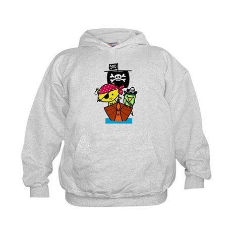 Pirate Ship Kids Hoodie