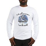 Chin World2 Long Sleeve T-Shirt