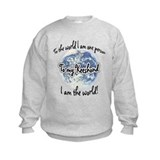 Keeshond World2 Sweatshirt