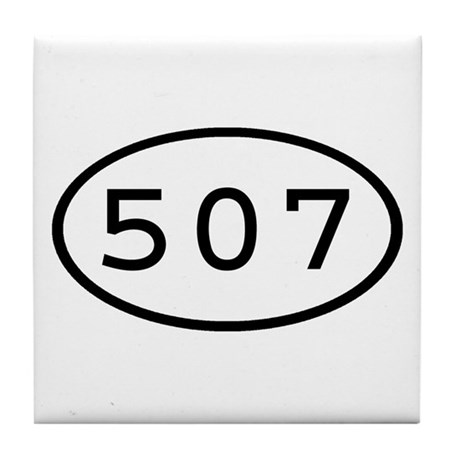 507 Oval Tile Coaster