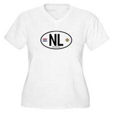 Netherlands Intl Oval T-Shirt