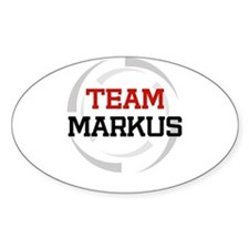 Markus Oval Decal
