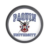 PAQUIN University Wall Clock