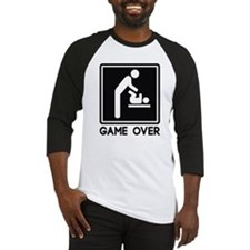 Cute Game over Baseball Jersey