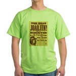 The Head of Joaquin Green T-Shirt