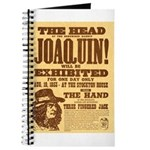 The Head of Joaquin Journal