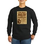 The Head of Joaquin Long Sleeve Dark T-Shirt