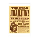 The Head of Joaquin Mini Poster Print