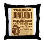 The Head of Joaquin Throw Pillow
