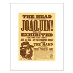 The Head of Joaquin Small Poster