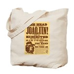 The Head of Joaquin Tote Bag