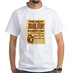 The Head of Joaquin White T-Shirt